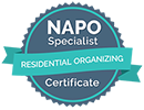 NAPO Residential Organizing Specialist Certificate